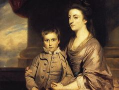 Elizabeth, Countess of Pembroke and Her Son – Joshua Reynolds