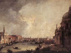 Entrance To The Grand Canal Looking East – Canaletto