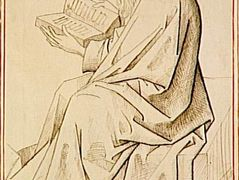 Etude of figure the evangelist – Rogier van der Weyden