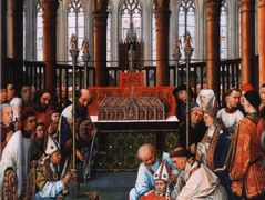 Exhumation of Saint Hubert – Rogier van der Weyden