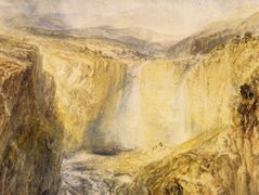 Fall of the Trees, Yorkshire — William Turner