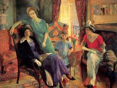 Family group – William James Glackens