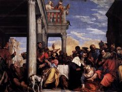 Feast in the House of Simon — El Greco