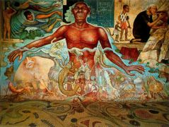 Figure Symbolizing the African Race — Diego Rivera