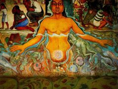 Figure Symbolizing the Asiatic Race — Diego Rivera