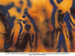 Fire Painting – Yves Klein