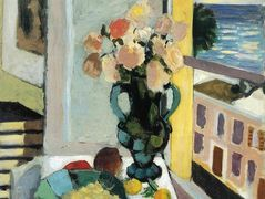 Flowers in front of a Window  – Henri Matisse