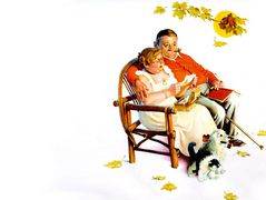 Fondly Do We Remember – Norman Rockwell