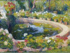 Fountain in the Center of the Park – Henri Martin