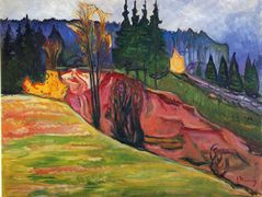 From Thuringewald – Edvard Munch