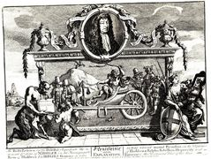 Frontispiece and its explanation (Hurdibras) – William Hogarth