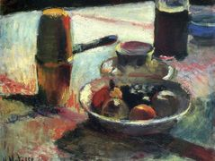 Fruit and Coffee-Pot – Henri Matisse