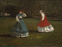 Game of Croquet – Winslow Homer