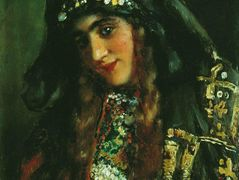 Girl in Oriental Dress – Konstantin Makovsky