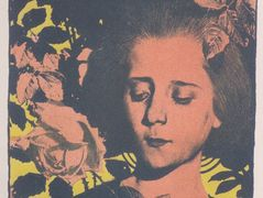 Girl in rose – Koloman Moser