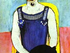 Girl with A Black Cat – Henri Matisse