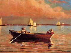 Gloucester Harbor – Winslow Homer