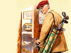 Golf – Norman Rockwell
