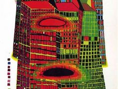 686 Good Morning City – Friedensreich Hundertwasser