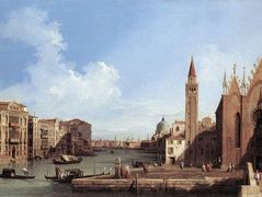 Grand Canal From Santa Maria Della Carita To The Bacino Di San Marco – Canaletto
