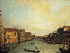 Grand Canal from the Palazzo Balbi – Canaletto