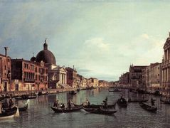 Grand Canal: Looking South West – Canaletto