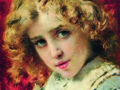 Head of Child (Portrait of the Son Konstantin) – Konstantin Makovsky