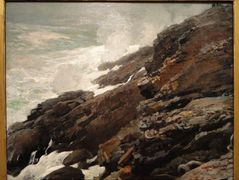High Cliff, Coast of Maine – Winslow Homer