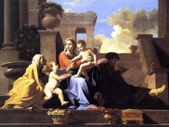 Holy Family on the Steps – Nicolas Poussin