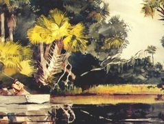 Homosassa jungle (Florida) – Winslow Homer