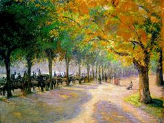 Hyde Park, London – Camille Pissarro