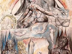 Illustration to Dante's Divine Comedy, Hell – William Blake