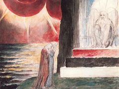 Illustration to Dante's Divine Comedy, Purgatory – William Blake