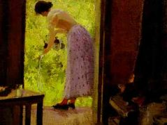 In a Summer Cottage – Konstantin Korovin