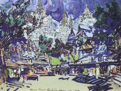 In the ancient city – Konstantin Korovin