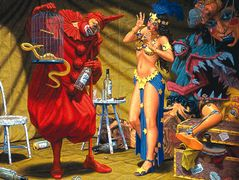 In The Pavilion of The Red Clown – Robert Williams
