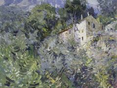 In the south of France  – Konstantin Korovin