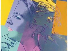 Ingrid Bergman (as Herself) — Andy Warhol