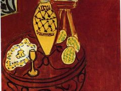 Interior in Venetian Red – Henri Matisse