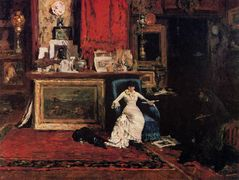 Interior of the Artist's Studio (aka The Tenth Street Studio) – William Merritt Chase