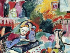 Interior with a Girl Reading  – Henri Matisse