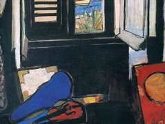 Interior with a Violin – Henri Matisse