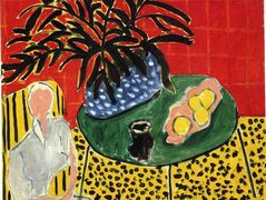 Interior with Black Fern  – Henri Matisse