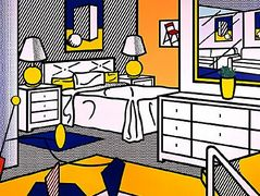 Interior with mobile – Roy Lichtenstein