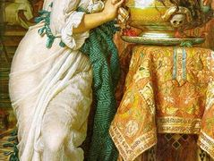 Isabella and the Pot of Basil – William Holman Hunt