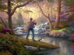 It Doesn't Get Much Better — Thomas Kinkade