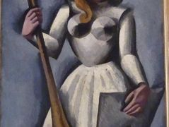 Joan of Arc  – Roger de La Fresnaye