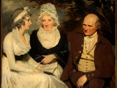 John Johnstone, Betty Johnstone, and Miss Wedderburn – Henry Raeburn