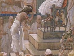 Joseph and His Brethren Welcomed by Pharaoh – James Tissot