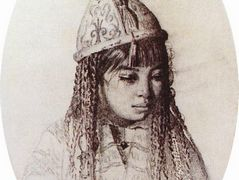 Kyrgyz girl – Vasily Vereshchagin